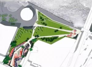 伯德菲尔德公园+布雷斯河口林荫道设计整体框架 (27)