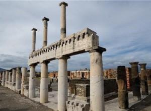 罗马古城庞贝遗址