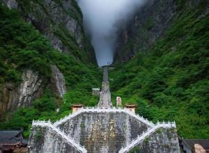 天门山:美丽张家界的新传奇